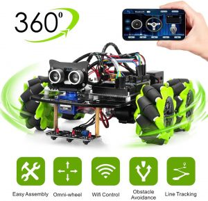 Osoyoo Mecanum Wheels Robot Car Kit for Arduino Mega2560