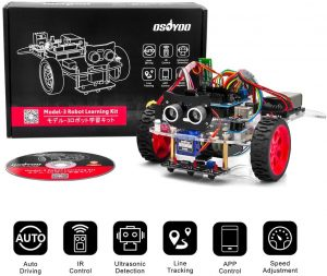 Osoyoo Model 3 Robot Car DIY Starter Kit for Arduino UNO