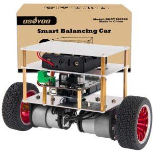 Osoyoo RC Two Wheel Self Balancing Robot Car Kit for UNO R3 DIY Educational Programmable Starter Kit
